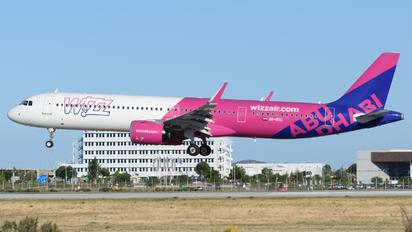 A6-WZD - Wizz Air Abu Dhabi Airbus A321 NEO