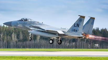 86-0154 - USA - Air Force McDonnell Douglas F-15C Eagle