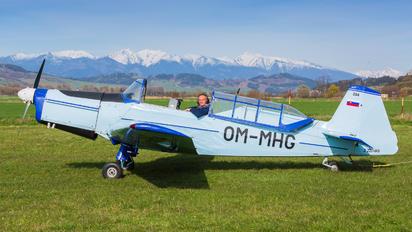 OM-MHG - Aeroklub Ružomberok - Airport Overview - People, Pilot