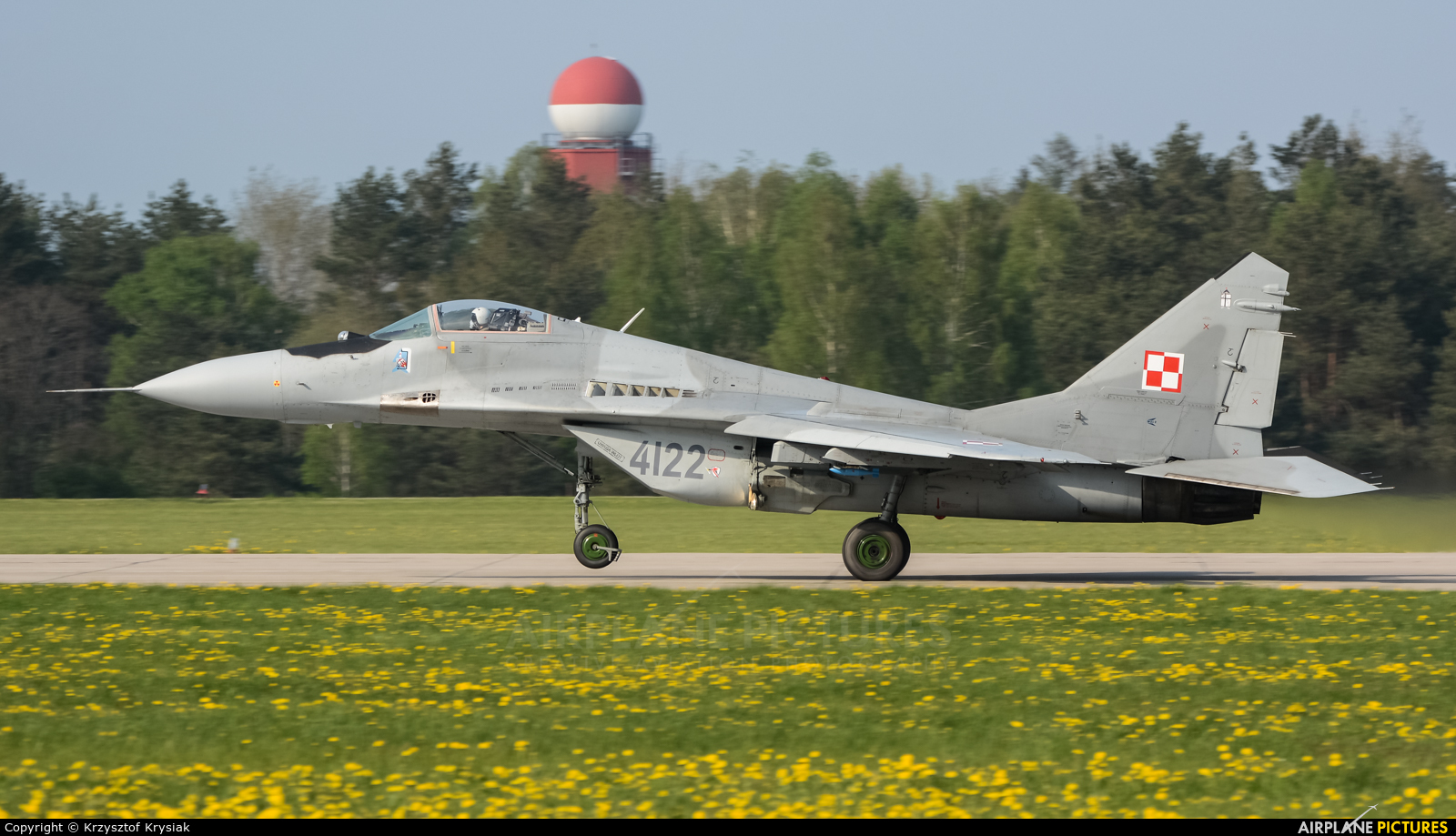 Poland - Air Force 4122 aircraft at Świdwin