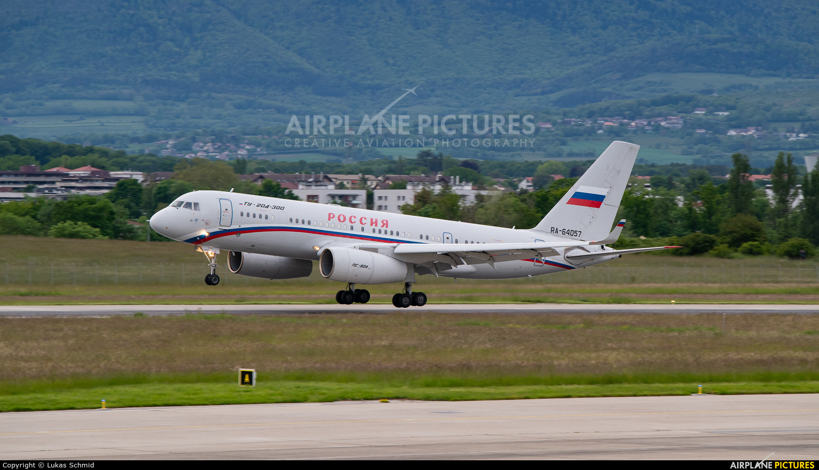 Rossiya Special Flight Detachment RA-64057 aircraft at Geneva Intl