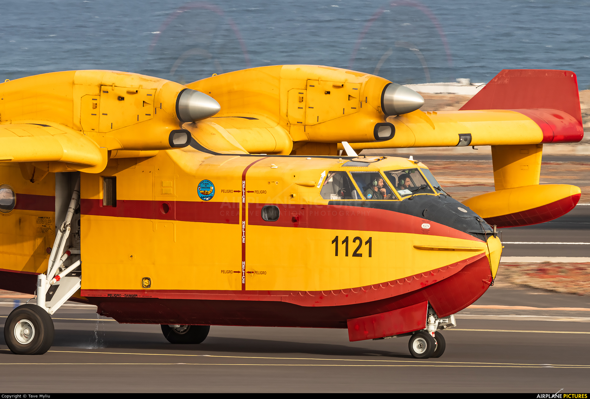 Spain - Air Force UD.13-27 aircraft at Tenerife Sur - Reina Sofia