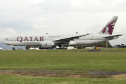 First visit of Qatar Cargo Boeing 777F to San Jose  title=