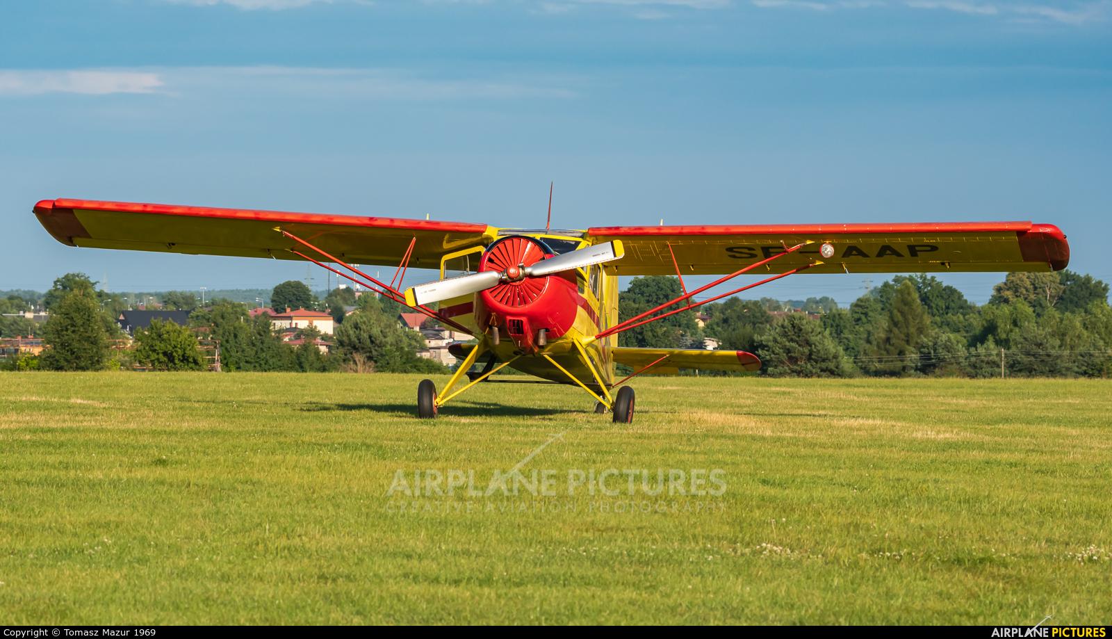 Aeroklub Ziemi Pilskiej SP-AAP aircraft at Rybnik - Gotartowice