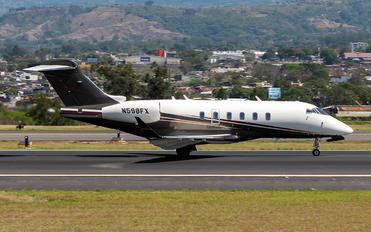 N598FX - Private Bombardier BD-100 Challenger 300 series