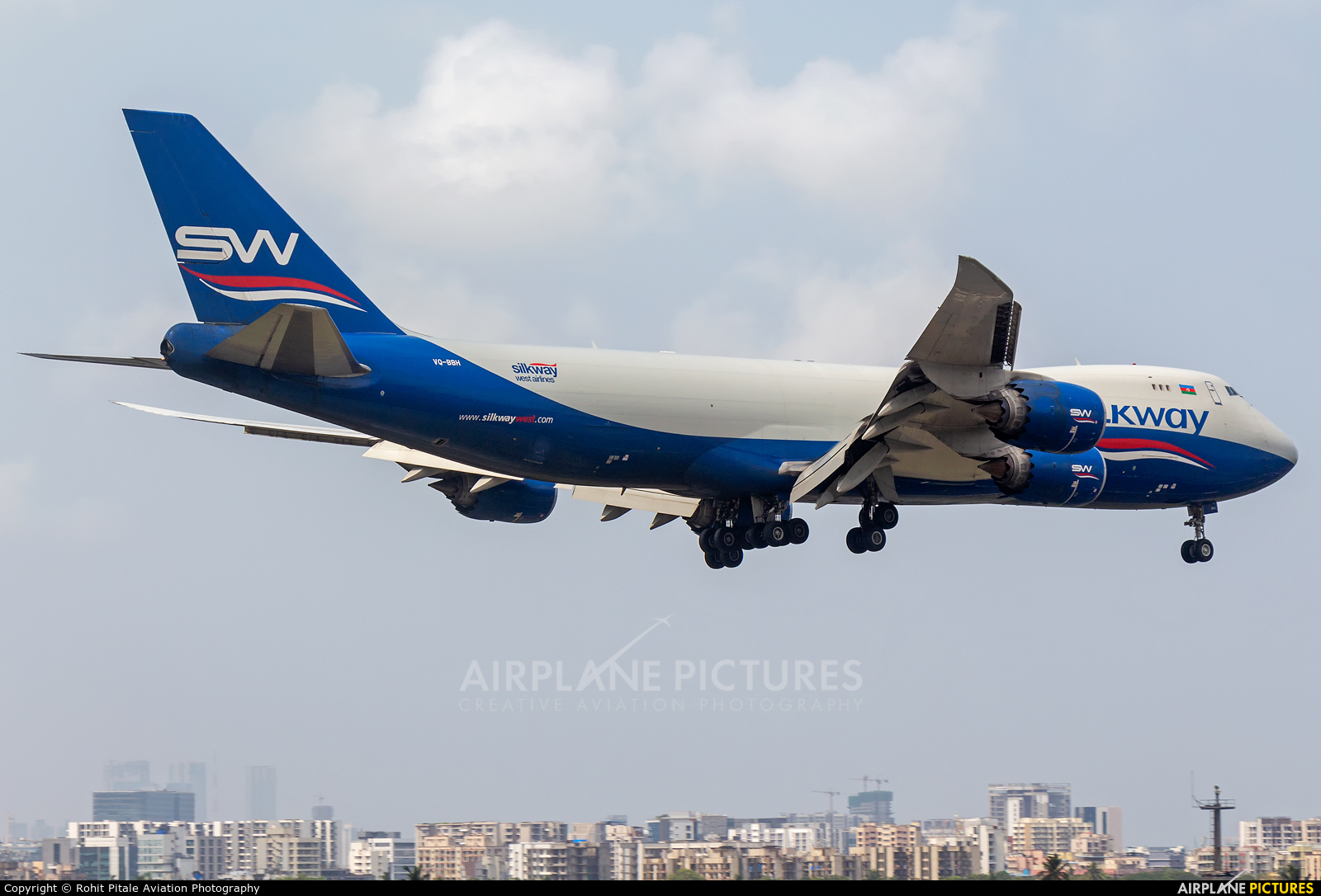 Silk Way Airlines VQ-BBH aircraft at Mumbai - Chhatrapati Shivaji Intl
