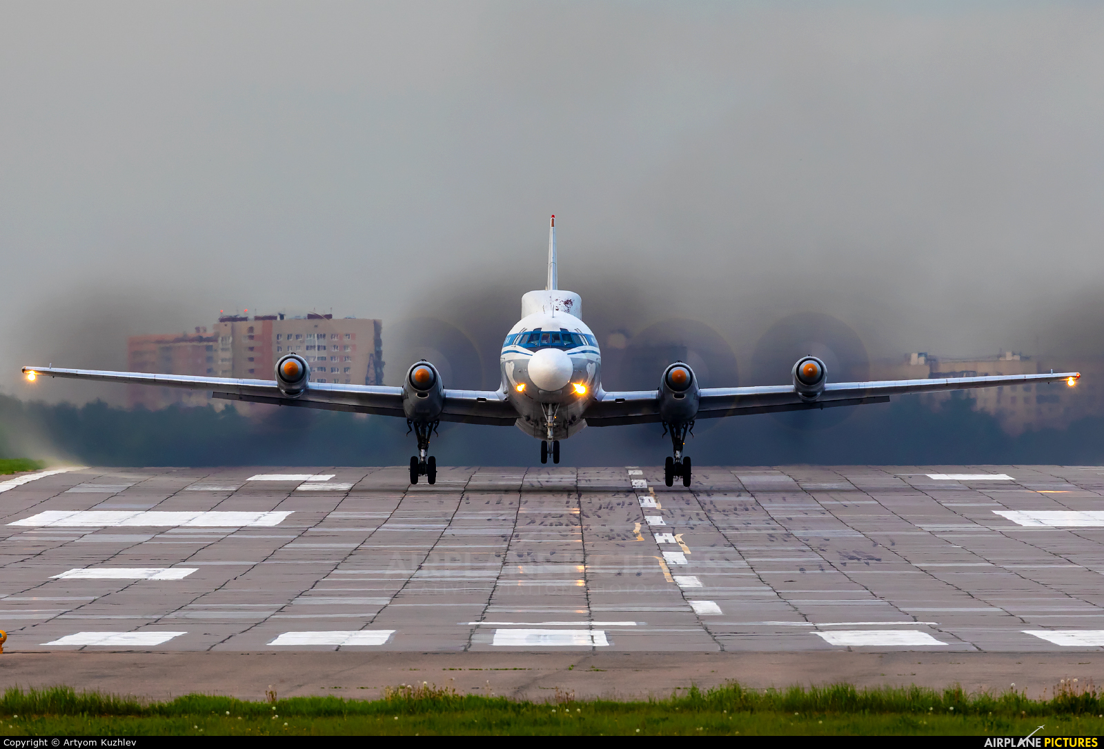 Russia - Navy RF-75315 aircraft at Moscow - Ostafyevo