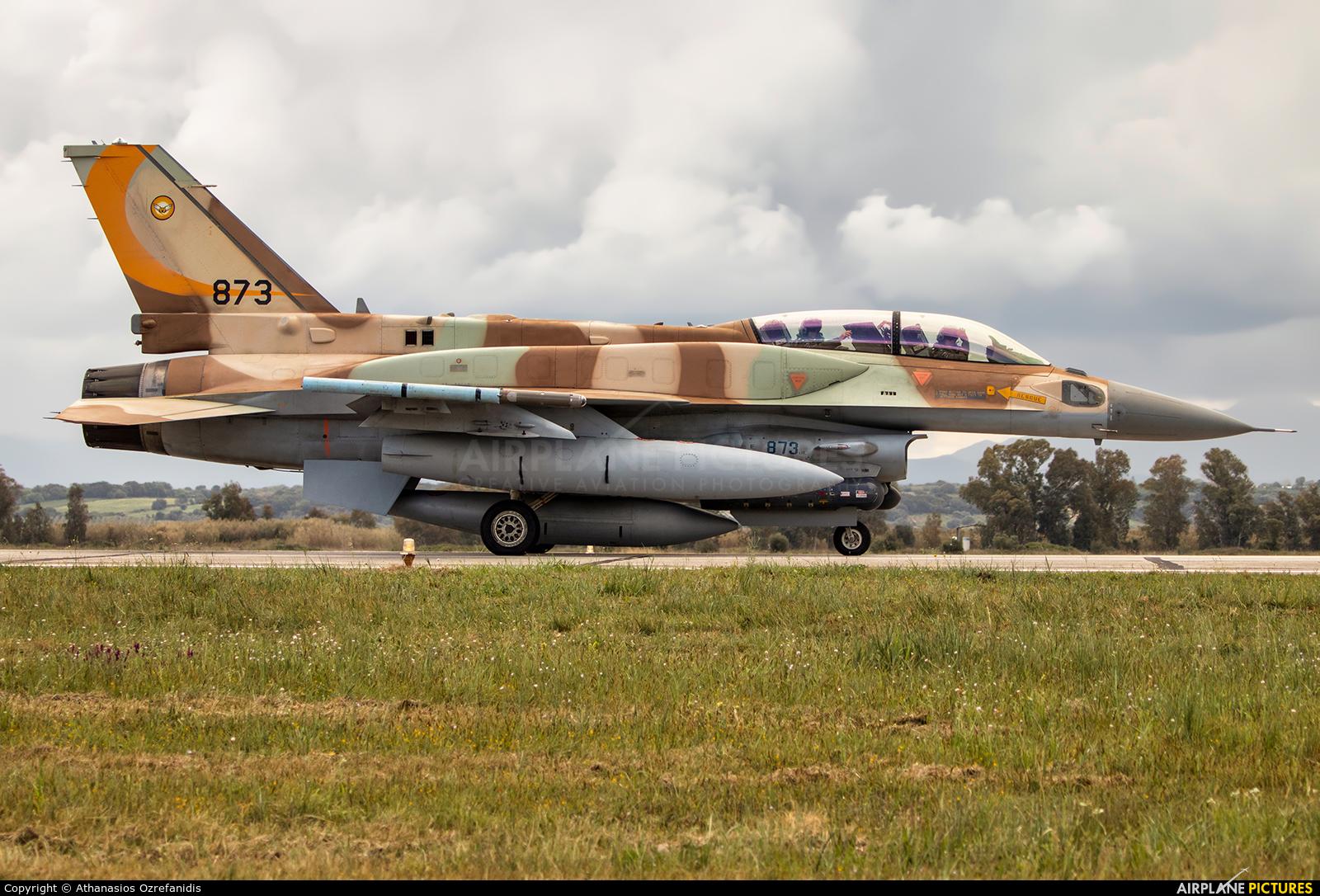 Israel - Defence Force 873 aircraft at Andravida AB
