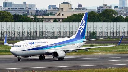 JA54AN - ANA - All Nippon Airways Boeing 737-800
