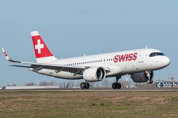 HB-JDC - Swiss Airbus A320 NEO
