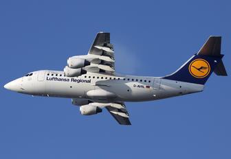 D-AVRL - Lufthansa Regional - CityLine British Aerospace BAe 146-200/Avro RJ85