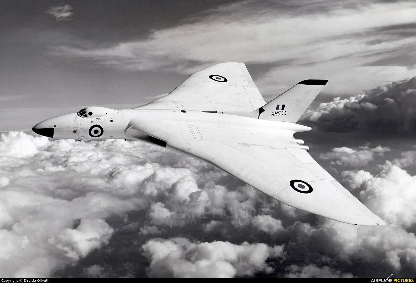 Royal Air Force XH533 aircraft at Unknown Location