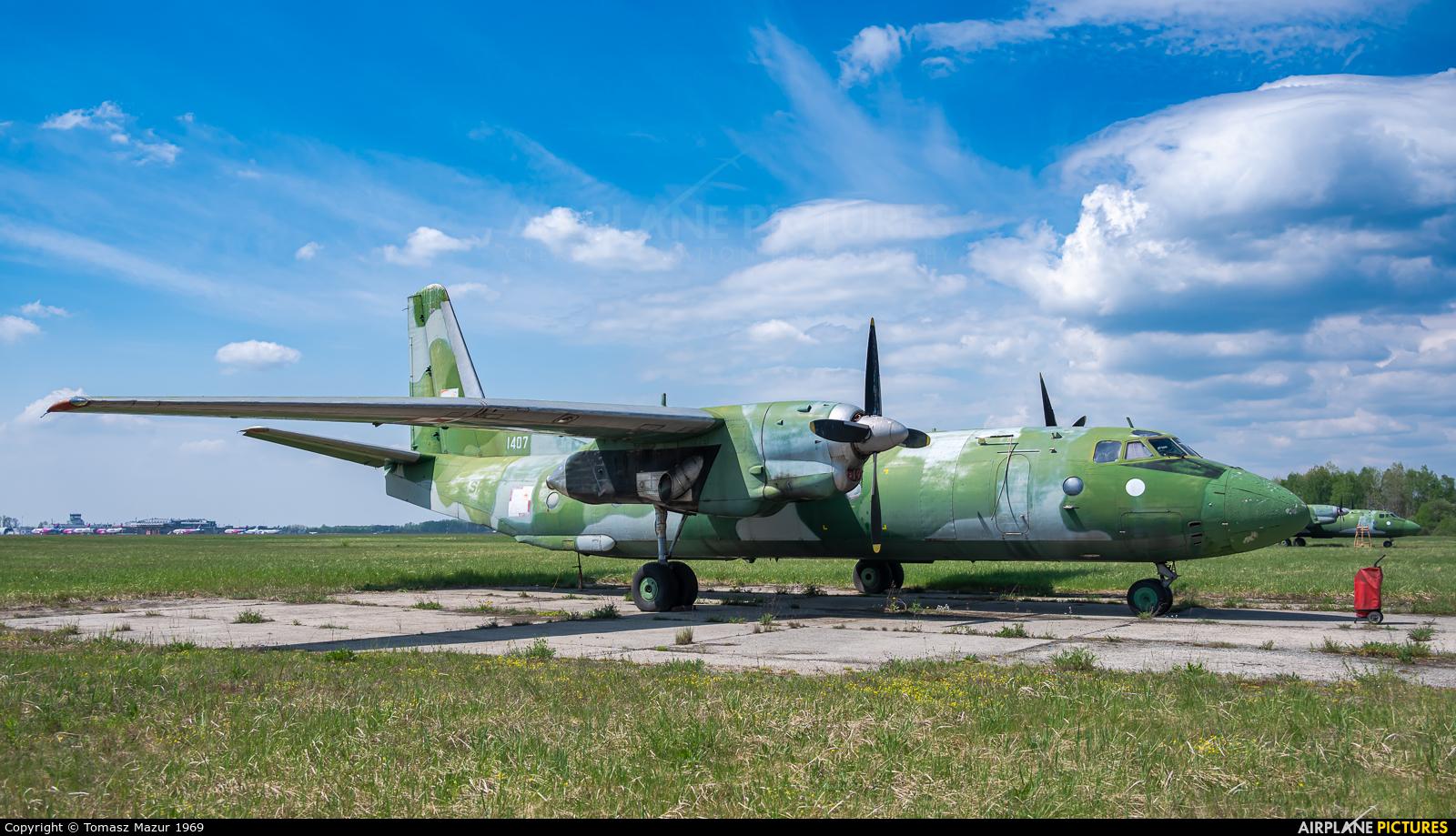 Poland - Air Force 1407 aircraft at Katowice - Pyrzowice