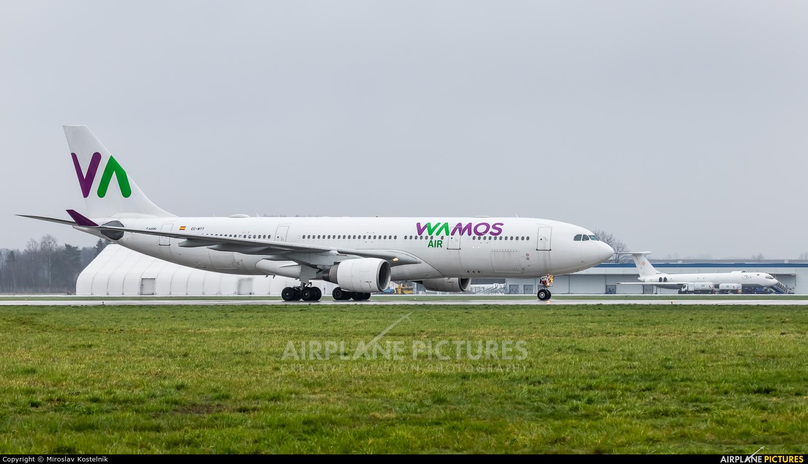 Wamos Air EC-MTT aircraft at Ostrava Mošnov