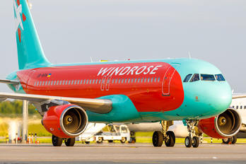 UR-WRW - Windrose Airlines Airbus A320