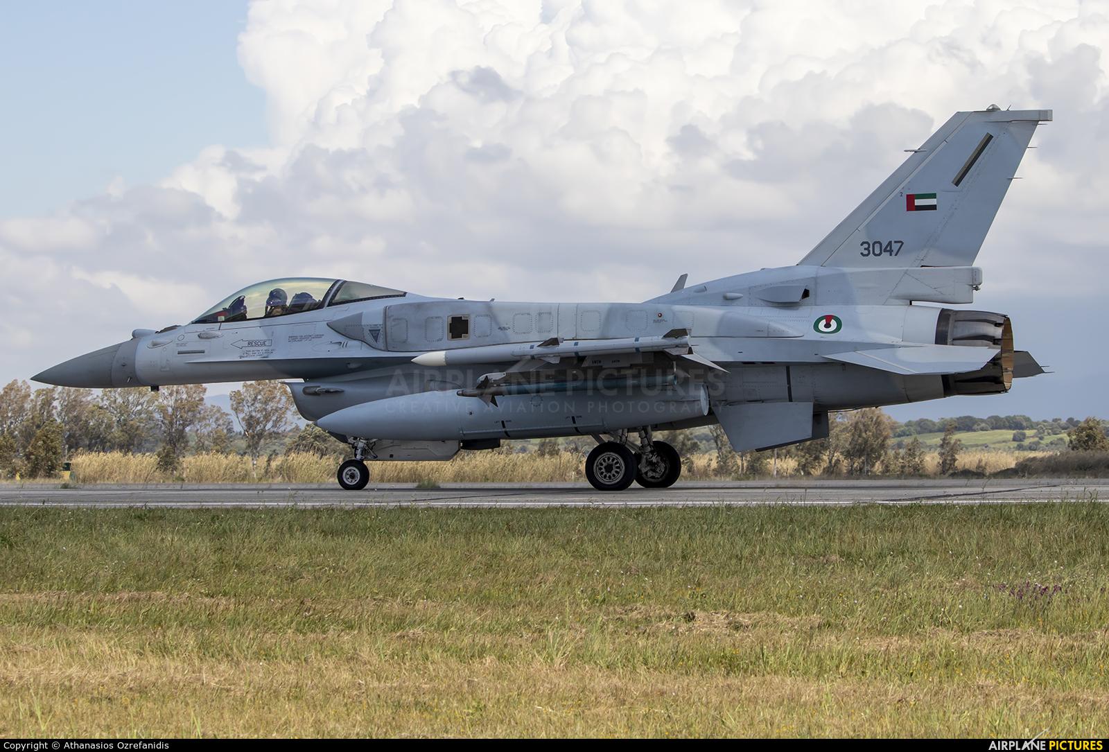 United Arab Emirates - Air Force 3047 aircraft at Andravida AB