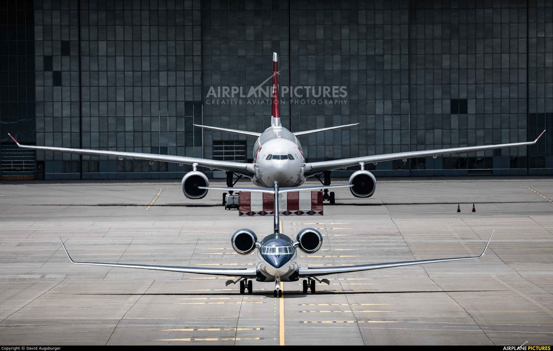 Private XA-AND aircraft at Zurich