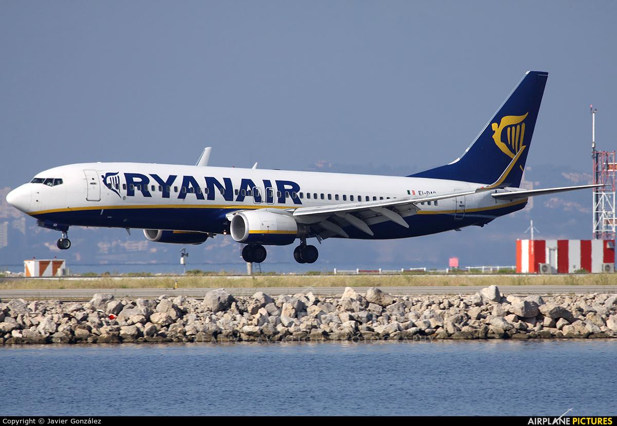 Ryanair EI-DAR aircraft at Marseille Provence