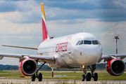 Rare visit of Iberia Express A320 to Katowice title=