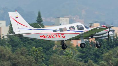 HK-3274-G - Private Piper PA-34 Seneca