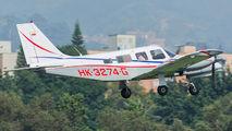 HK-3274-G - Private Piper PA-34 Seneca aircraft