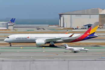 HL8383 - Asiana Airlines Airbus A350-900