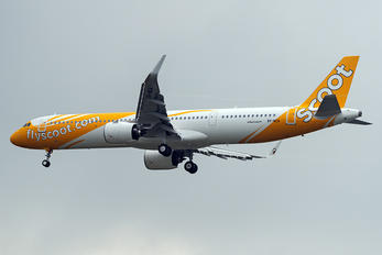 9V-NCA - Scoot Airbus A321 NEO