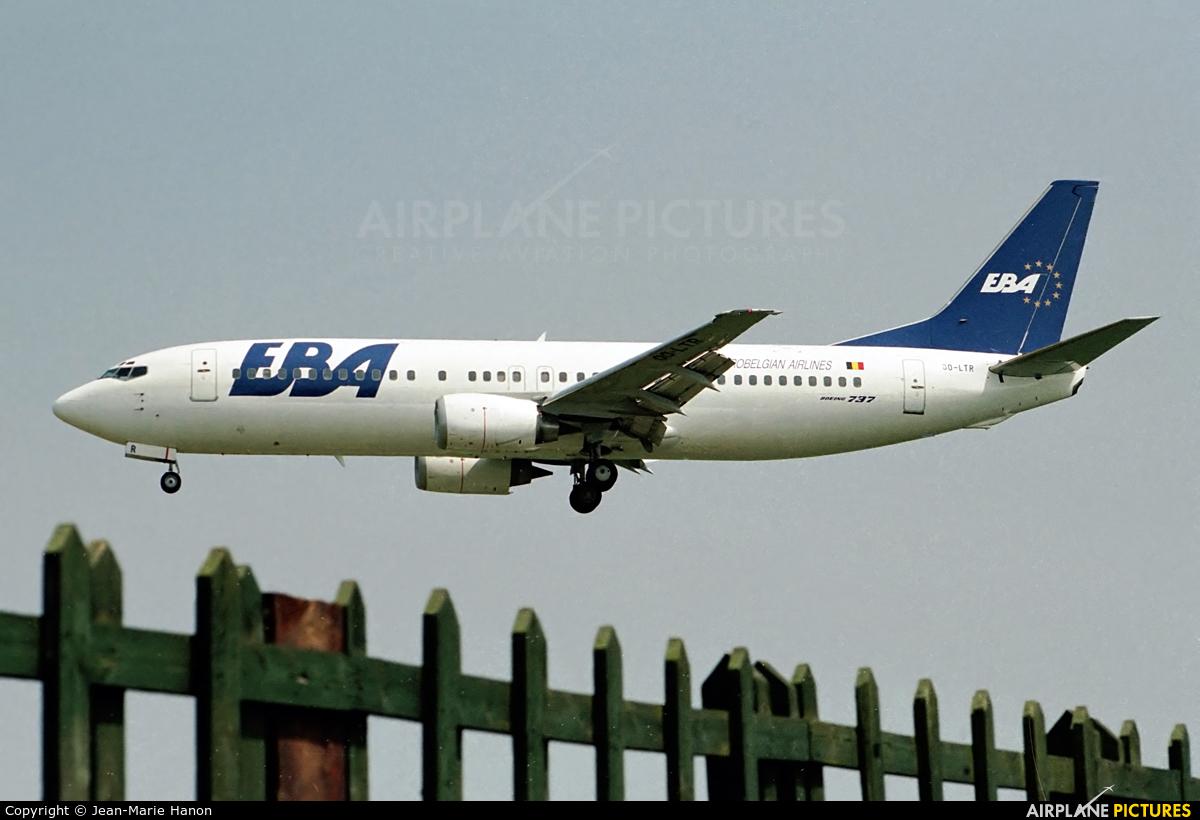 EBA - Eurobelgian Airlines OO-LTR aircraft at Brussels - Zaventem