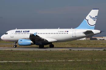 F-GXAG - Aigle Azur Airbus A319