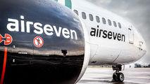 OY-ASA - Airseven Boeing 737-400 aircraft
