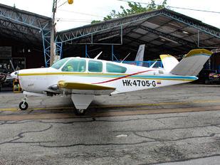 HK-4705 - Private Beechcraft 35 Bonanza V series