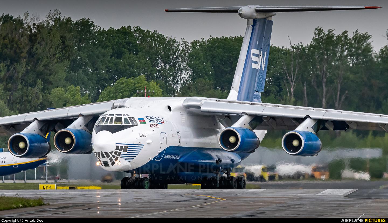 Silk Way Airlines 4K-AZ40 aircraft at Wrocław - Copernicus