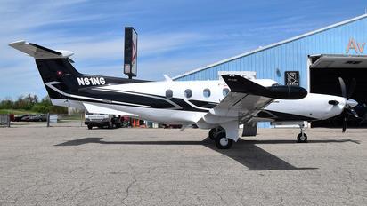 N81NG - Private Pilatus PC-12NG