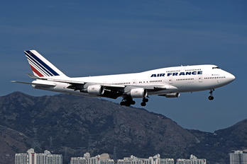 F-GISA - Air France Boeing 747-400