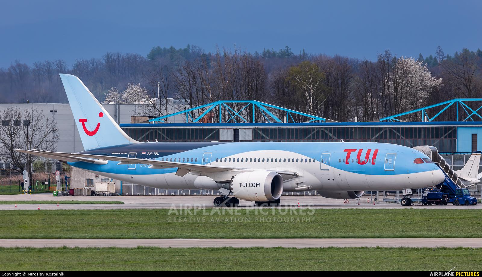 TUI Airlines Netherlands PH-TFL aircraft at Ostrava Mošnov