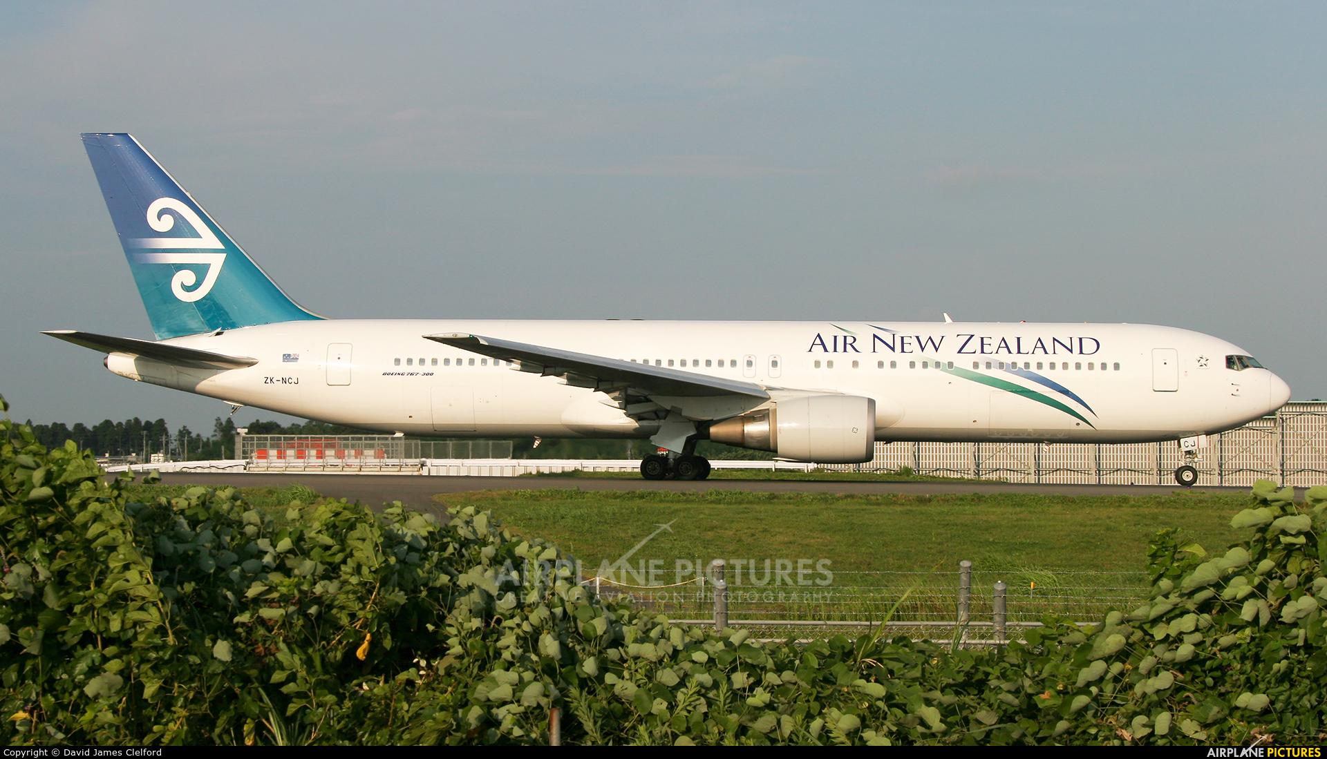 Air New Zealand ZK-NCJ aircraft at Tokyo - Narita Intl