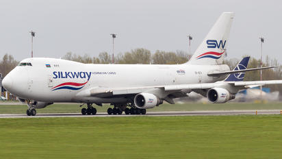 VP-BCV - Silk Way Airlines Boeing 747-400F, ERF