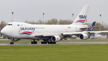 SilkWay West Boeing 747F visited Warsaw title=