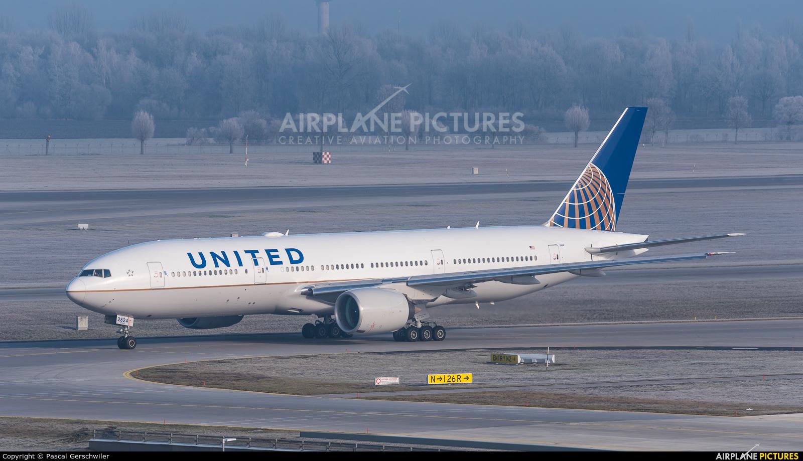 United Airlines N224UA aircraft at Munich