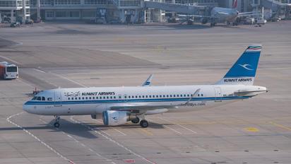 9K-AKI - Kuwait Airways Airbus A320