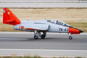 E.25-43 - Spain - Air Force Casa C-101EB Aviojet