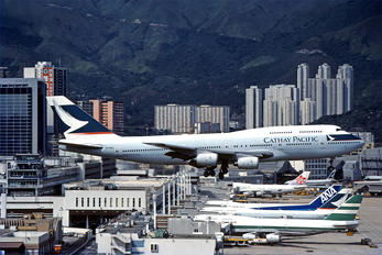 B-HOM - Cathay Pacific Boeing 747-300