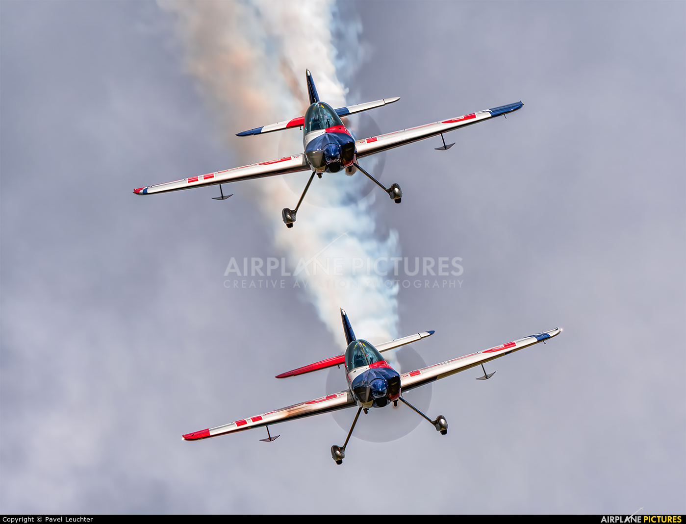 The Flying Bulls : Aerobatics Team OK-FBA aircraft at Pardubice