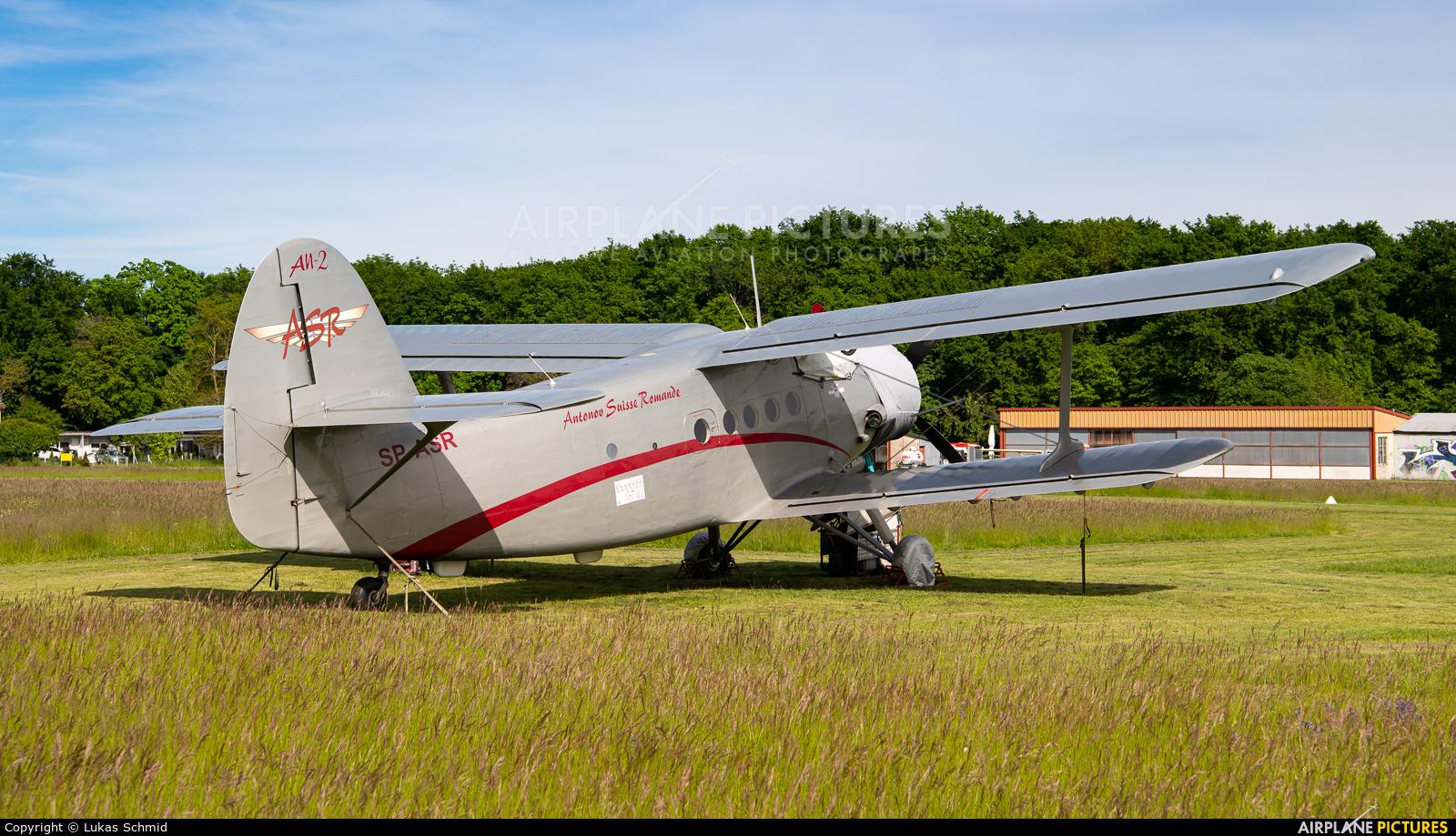Private SP-ASR aircraft at La Côte