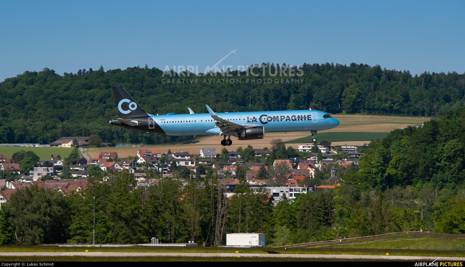 La Compagnie F-HNCO aircraft at Zurich