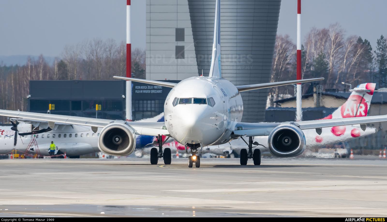 ASL Airlines Belgium OE-IAU aircraft at Katowice - Pyrzowice