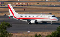 Polish Government Embraer at Madrid title=