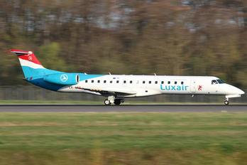 LX-LGZ - Luxair Embraer ERJ-145
