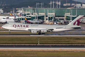 A7-BGA - Qatar Airways Cargo Boeing 747-8F