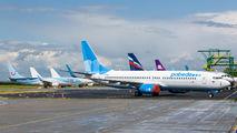 VQ-BHR - Pobeda Boeing 737-800 aircraft